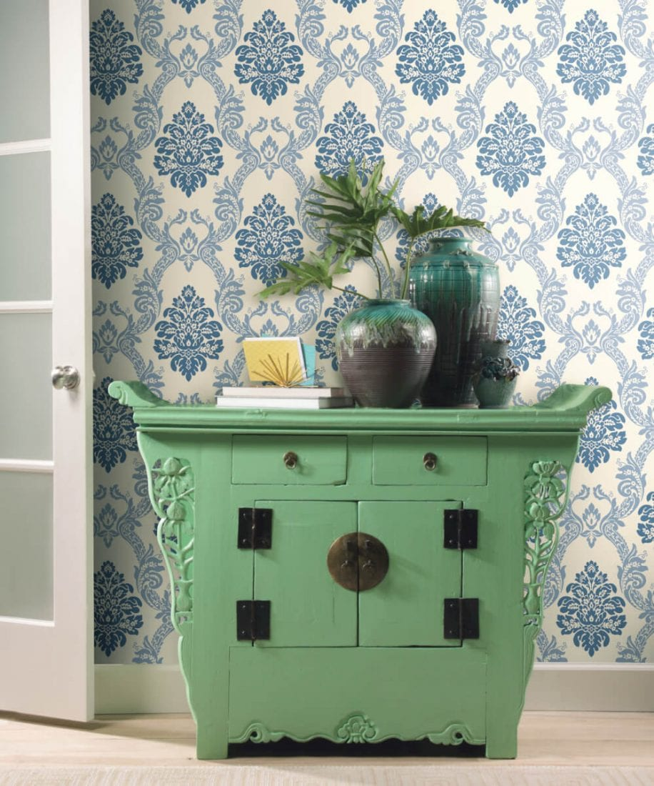 ASH A63 Ogee Damask