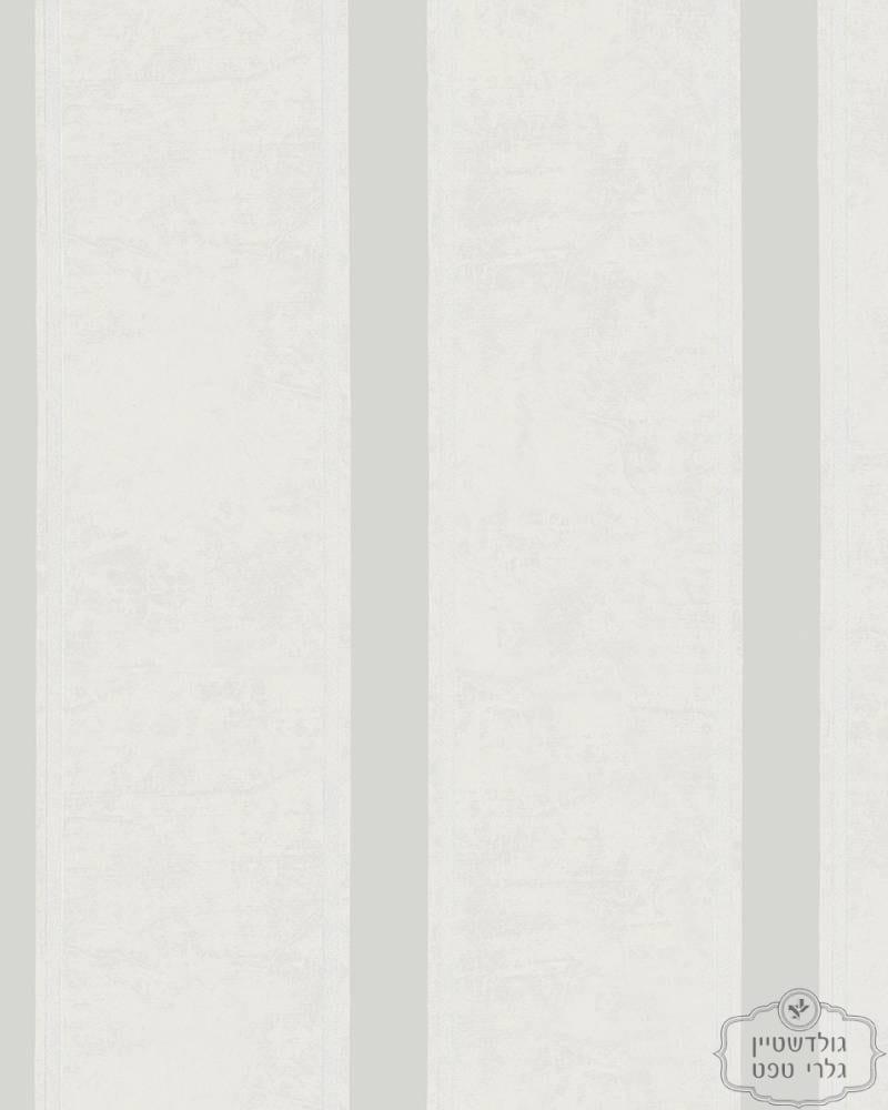 Vliestapete-Streifen-cremeweiss-beigegrau-metallic